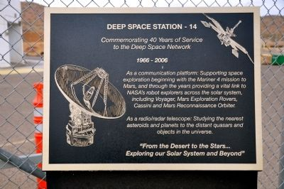 Deep Space Station - 14 Marker image. Click for full size.