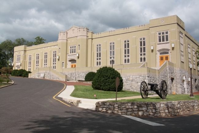 Crozet Hall at the Virginia Military Institute image. Click for full size.