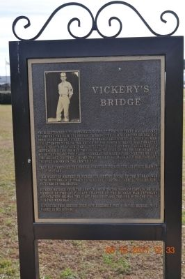 Vickery's Bridge Marker Photo, Click for full size