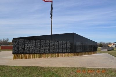 The Lower Alabama Vietnam Veterans Memorial Marker image. Click for full size.