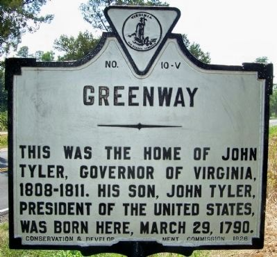 Greenway Marker Photo, Click for full size