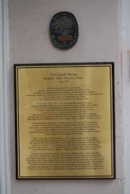 73 Church Street Marker image. Click for full size.