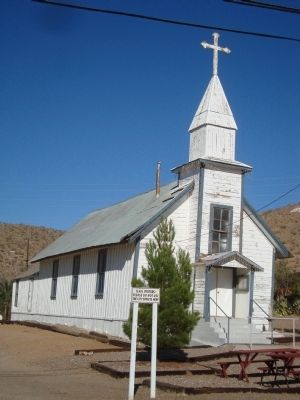 Santa Barbara Church - Randsburg image. Click for full size.