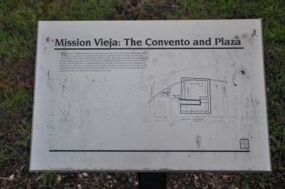 Mission Vieja: The Convento and Plaza - Panel 3 image. Click for full size.