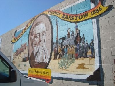 The Waterman Junction becomes Barstow 1886 Mural image. Click for full size.