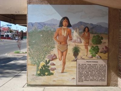 Mojave Runners Marker Photo, Click for full size