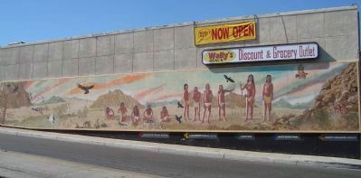 "The ""Native American Voices from the Mojave Desert"" Mural Photo, Click for full size"