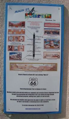 Barstow's Main Street Murals Directory Photo, Click for full size