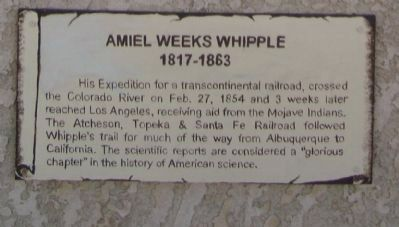 Amiel Weeks Whipple Marker image. Click for full size.