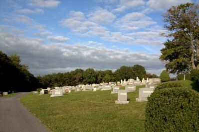 Mount Tabor Lutheran Church Cemetery image. Click for full size.