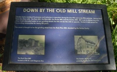Down by the Old Mill Stream Marker image. Click for full size.