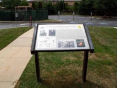 View of the Marker in Front of the Parking Lot image. Click for full size.