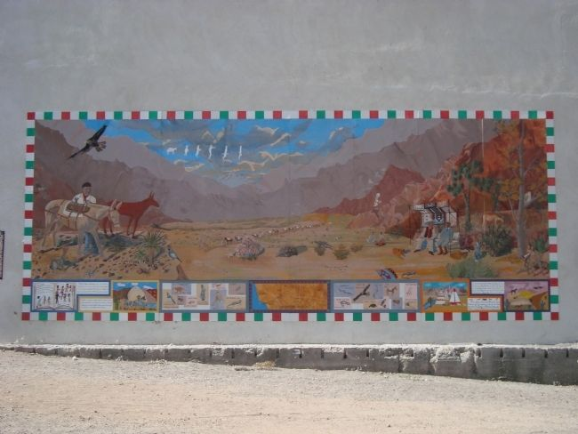 The Old Spanish Trail Mural Photo, Click for full size