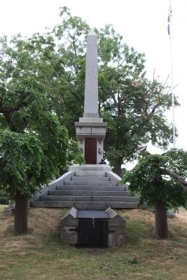 Soldier's Monument Marker Photo, Click for full size