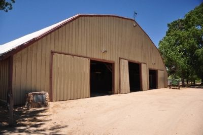 Las Flores Ranch Barn image. Click for full size.