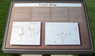 The Development of the Kansas City area Frontier Trails Network Marker image. Click for full size.