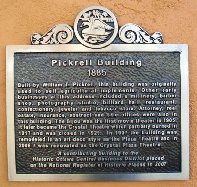 Pickrell Building Marker image. Click for full size.