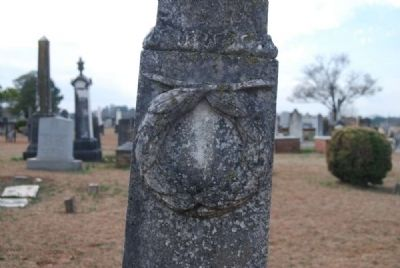 Rev. William H. Barr, D.D. Tombstone Carving image. Click for full size.