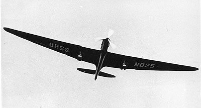 URSS ANT-25 N025 in flight image. Click for full size.