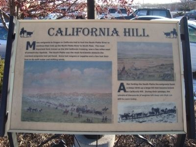 California Hill Marker image. Click for full size.