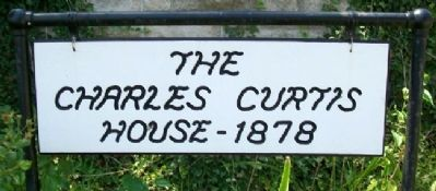 Charles Curtis House Sign image. Click for full size.