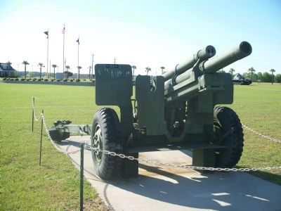 105mm Howitzer at Veteran's Park image. Click for full size.