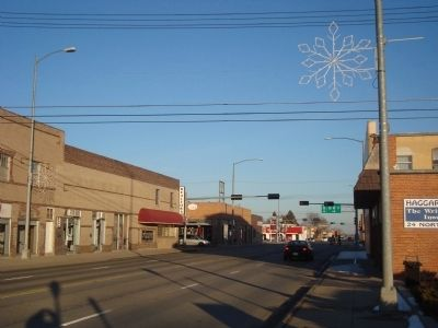 U.S. Highway 30 in Ogallala, Nebraska, formerly part of the Lincoln Highway image. Click for full size.