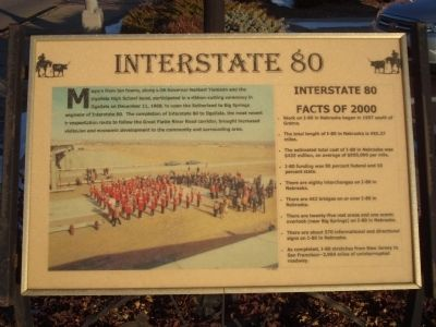 Interstate 80 Marker image. Click for full size.