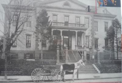 """Healing the Wounded"" Marker - Old Naval Hospital photo on reverse image. Click for full size."