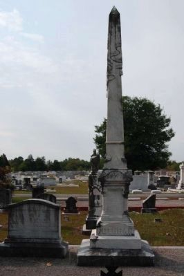 U.S. Rep. James Sproull Cothran<br>Tombstone - South Facing image. Click for full size.