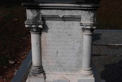 U.S. Rep. James Sproull Cothran<br>Tombstone - East Facing image. Click for full size.