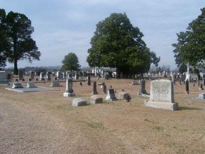 Long Cane Cemetery image. Click for full size.