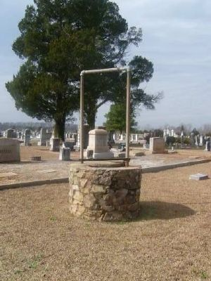 Long Cane Cemetery Well image. Click for full size.