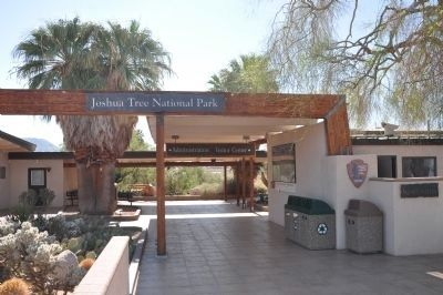 Joshua Tree National Park Visitor Center image. Click for full size.