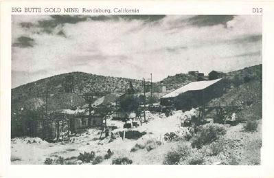 Big Butte Gold Mine image. Click for full size.