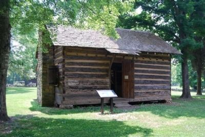 Home Sweet Homeplace Marker<br>John Robert Patrick Cabin image. Click for full size.