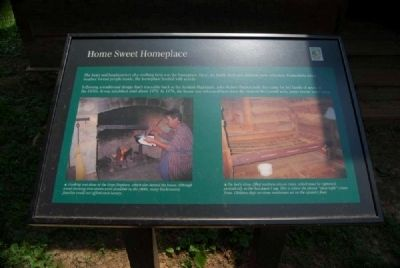 Home Sweet Homeplace Marker image. Click for full size.