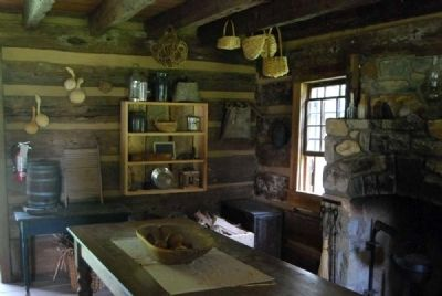 John Robert Patrick Cabin<br>Interior - Storage Area image. Click for full size.