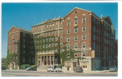 Hotel Van Curler Post Card image. Click for full size.