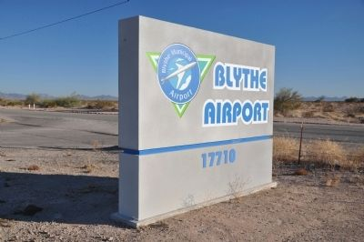 Blythe Airport Photo, Click for full size