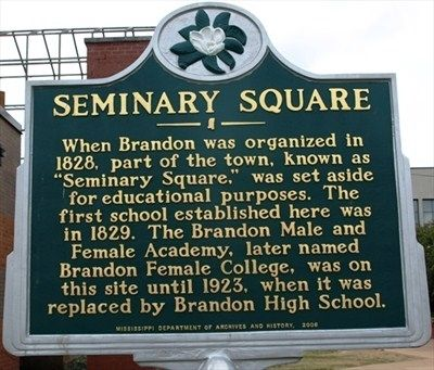 Seminary Square Marker image. Click for full size.