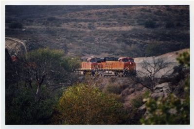 BNSF 7563 at Blue Cut image. Click for full size.