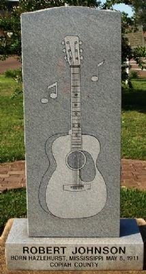 Robert Johnson Birthplace Marker image. Click for full size.
