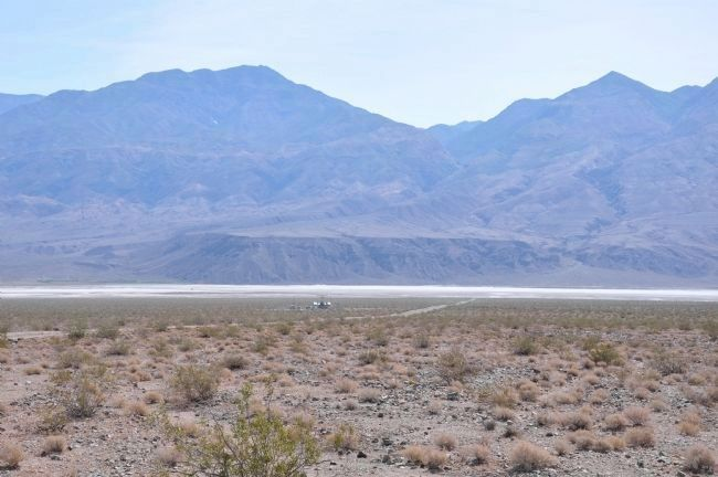 Ballarat Road Appraching Panamint Dry Lake image. Click for full size.