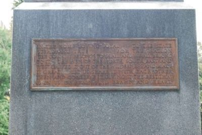Benjamin Ryan Tillman Monument<br>West Plaque image. Click for full size.