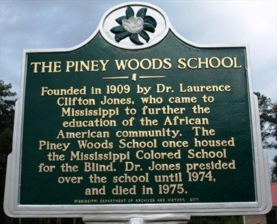 The Piney Woods School Marker image. Click for full size.