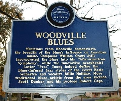 Woodville Blues Marker image. Click for full size.