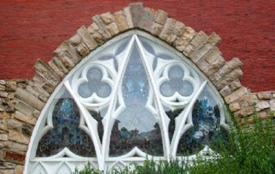 V.A. Medical Center Chapel Window image. Click for full size.