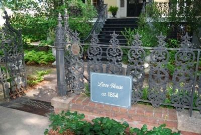 Lace House Marker image. Click for full size.