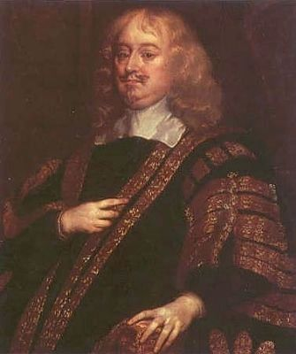 Edward Hyde, 1st Earl of Clarendon<br>18 February 1609 &#8211; 9 December 1674 image. Click for full size.